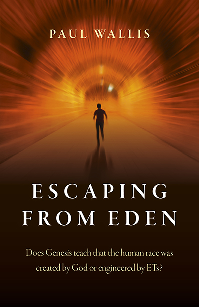 Escaping from Eden - cover without George Noory quote