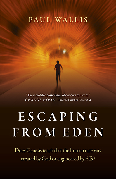 ESCAPING FROM EDEN front cover