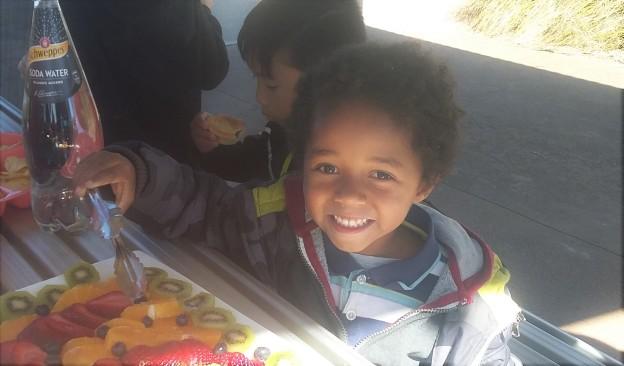 Caleb at 5 birthday