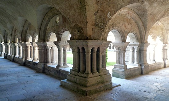 fontenay cloister