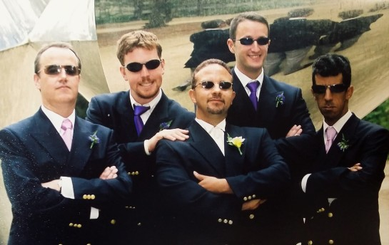 Me and my Groomsmen