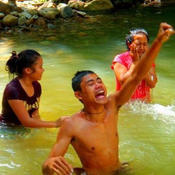 Molong baptising 3