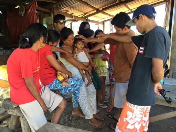 Molong family prayer
