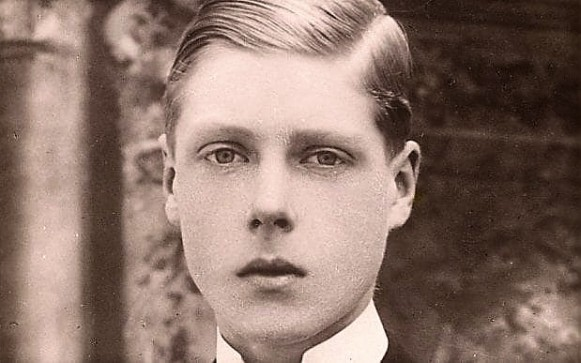 edward as a young man