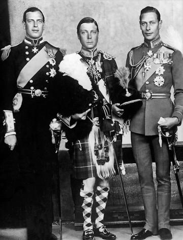 george, edward and albert