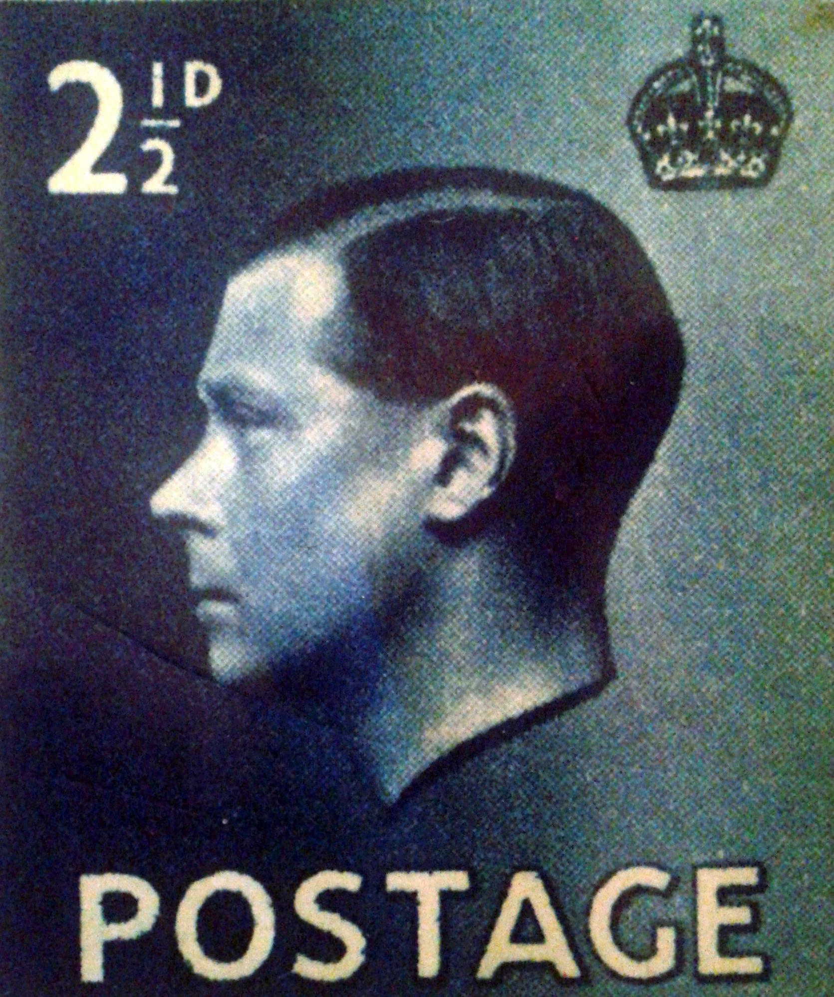 King Edward Stamp