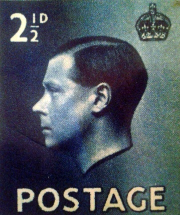 King Edward Stamp