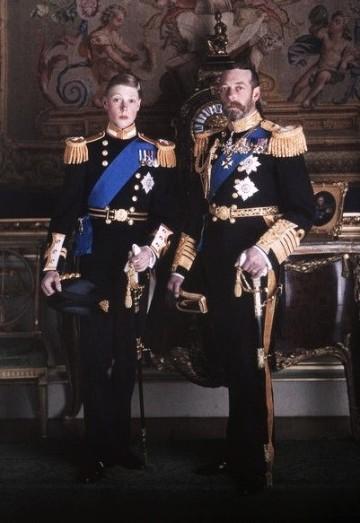 King George and Prince Edward