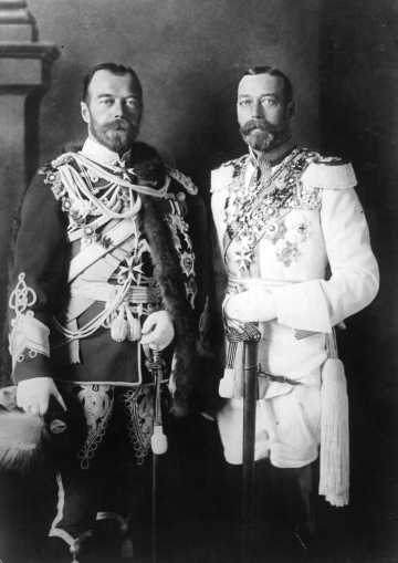 nicholas ii and george v