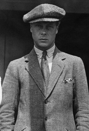 the prince in a peaked cap