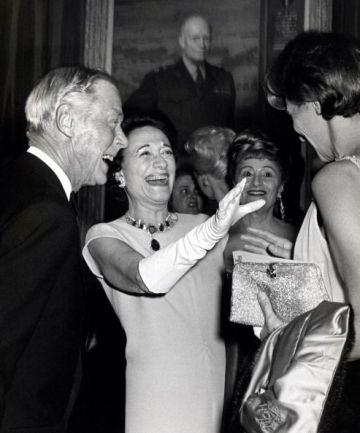 Wallis and Edward laughing