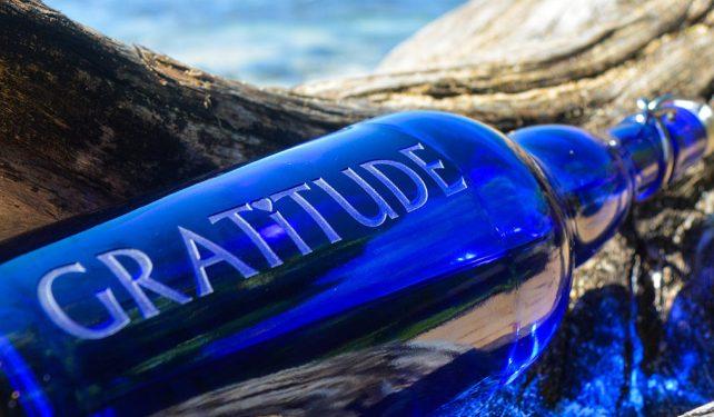 gratitude bottle