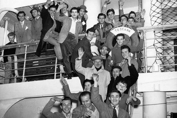 Italian immigrants to Australia