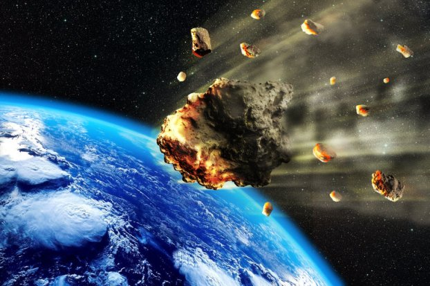 asteroid strike